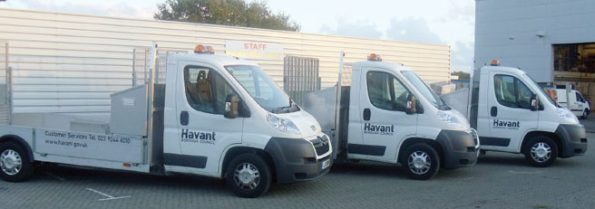 Havant Council's Plant Transporter