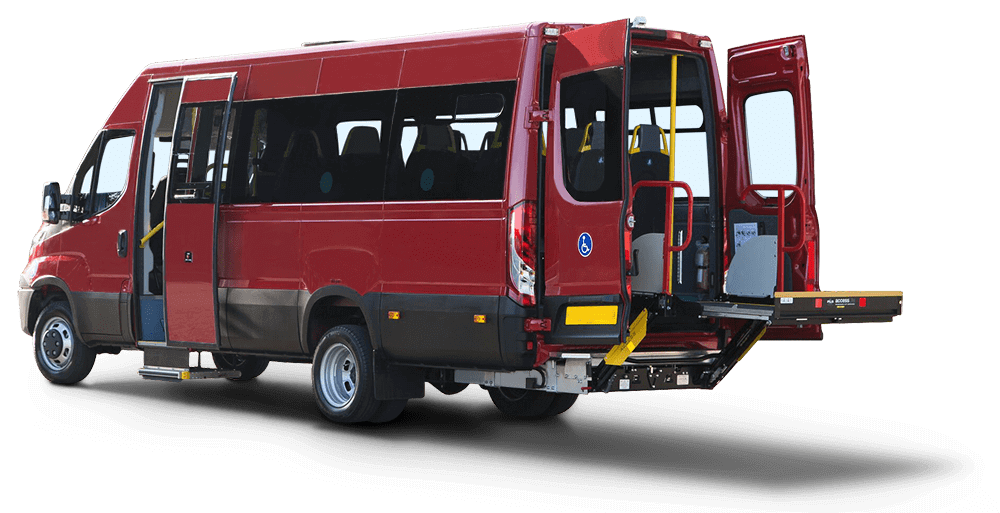 Wheelchair accessible vehicle conversions