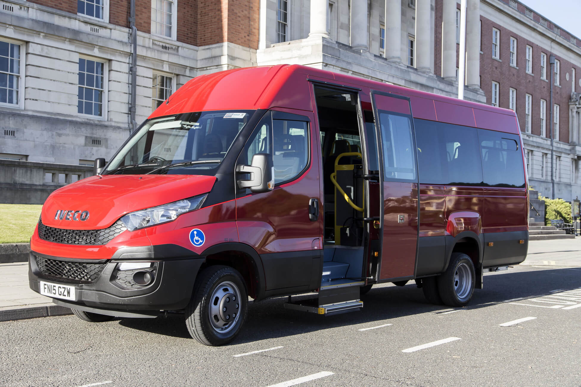 5 reasons why a bespoke Minibus (no D1 required) from Advanced KFS is best