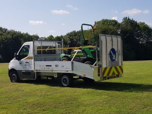 Renault Accredited Grounds maintenance vehicle