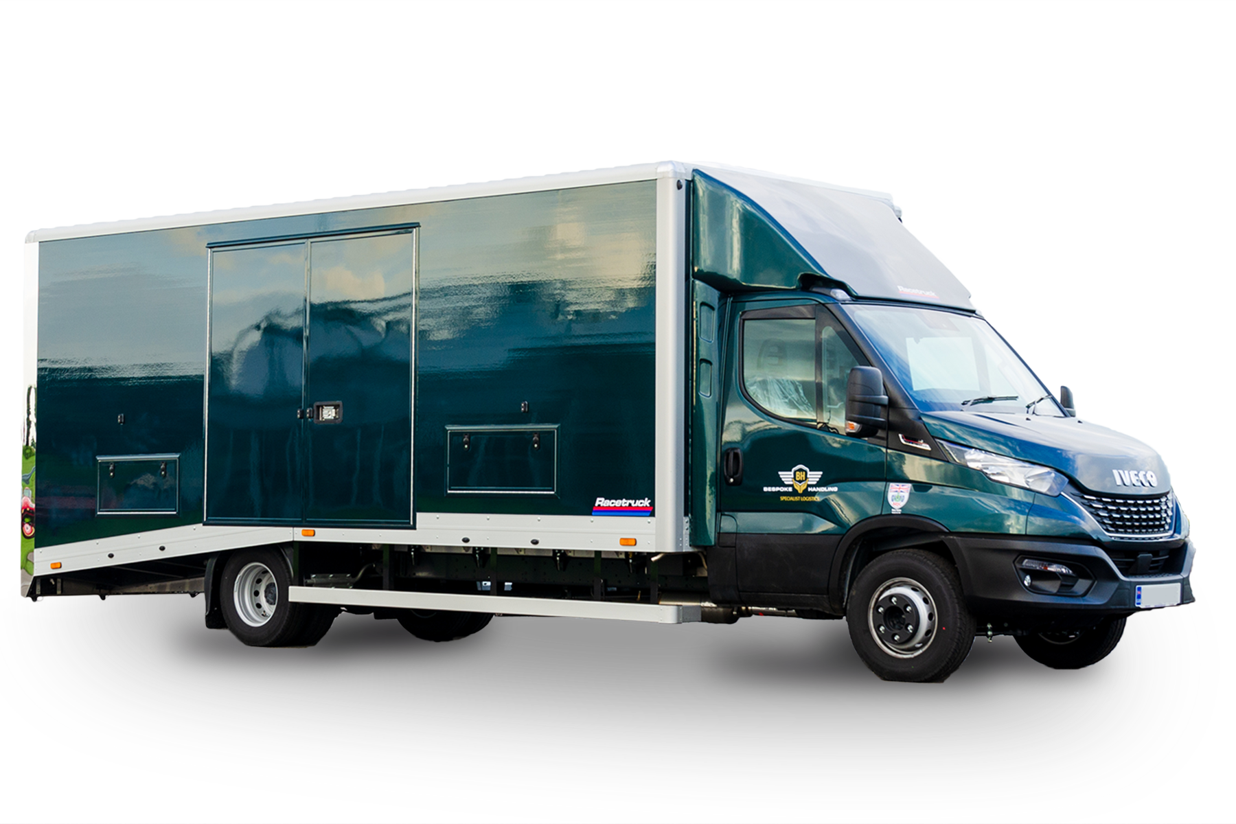 Iveco Enclosed Vehicle Transporter